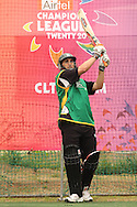 Matthew Sinclair of the Central Stags pulls a delivery during the Central Stags training session held at St Georges Park in Port Elizabeth on the 17 September 2010..Photo by: Shaun Roy/SPORTZPICS/CLT20
