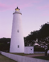 AA03277-01...NORTH CAROLINA - Ocracoke Lighthouse on Ocracoke Island on the Outer Banks.