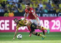 v.l. Gonzalo Castro, Suat Serdar (Mainz)<br /> Dortmund, 27.08.2016, Fussball Bundesliga, Borussia Dortmund - FSV Mainz 05 2:1<br /> <br /> Norway only