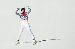 Manuel Poppinger (AUT) reacts during Ski Flying Hill Team Competition at Day 3 of FIS Ski Jumping World Cup Final 2016, on March 19, 2016 in Planica, Slovenia. Photo by Vid Ponikvar / Sportida