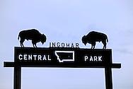 Ingomar, Montana, city park
