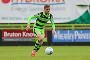 Forest Green Rovers Elliott Frear (11) runs with the ball during the Vanarama National League match between Forest Green Rovers and Bromley FC at the New Lawn, Forest Green, United Kingdom on 17 September 2016. Photo by Shane Healey.