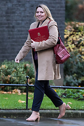 © Licensed to London News Pictures. 28/11/2017. London, UK. Secretary of State for Culture, Media and Sport Karen Bradley arrives on Downing Street for the weekly Cabinet meeting. Photo credit: Rob Pinney/LNP