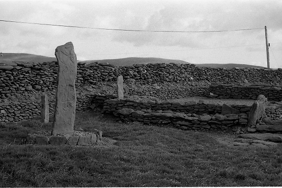 Scenes of Cork and Kerry..1986..02.09.1986..09.02.1986..2nd September 1986..Pictures of a series of scenic shots taken in the Cork / Kerry region of Ireland.Monastic site at Riasc, West of Dingle,Co Kerry. (Special thanks to Ciaran Walsh for this information.) .