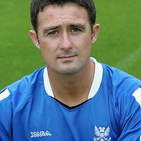 St Johnstone FC  season 2005-2006<br />David Hannah<br /><br />Picture by Graeme Hart.<br />Copyright Perthshire Picture Agency<br />Tel: 01738 623350  Mobile: 07990 594431