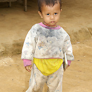 Young karen hill tribe child