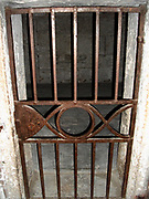 Prison Cell in Doge's Palace, Venice, Italy.
