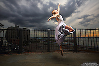 Dance As Art  New York City Photography Brooklyn Heights Promenade with Mykaila Symes