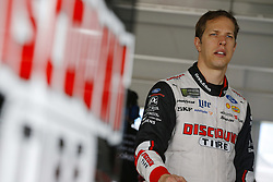 November 16, 2018 - Homestead, Florida, U.S. - Brad Keselowski (2) hangs out in the garage during practice for the Ford 400 at Homestead-Miami Speedway in Homestead, Florida. (Credit Image: © Chris Owens Asp Inc/ASP)