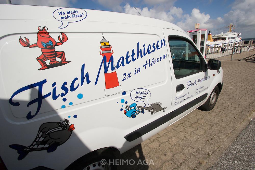 Fresh fish transport by Matthiesen.