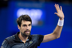 February 6, 2019 - Montpellier, France, FRANCE - joie de Jeremy Chardy  (Credit Image: © Panoramic via ZUMA Press)
