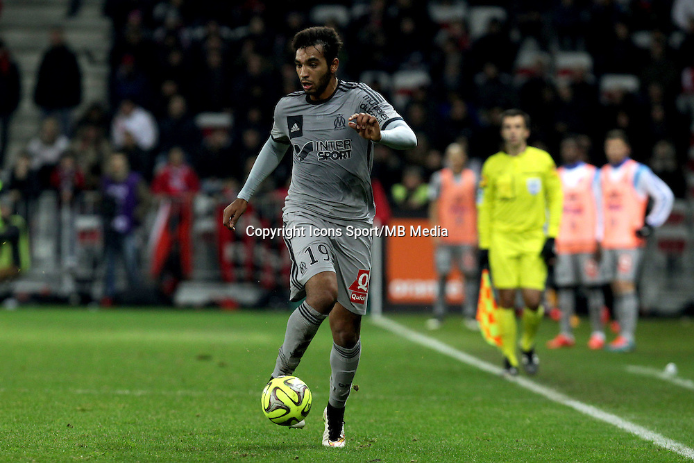 Abdel Slem Billel OMRANI  - 23.01.2015 - Nice / Marseille - 22eme journee de Ligue 1<br />Photo : Jean Christophe Magnenet / Icon Sport