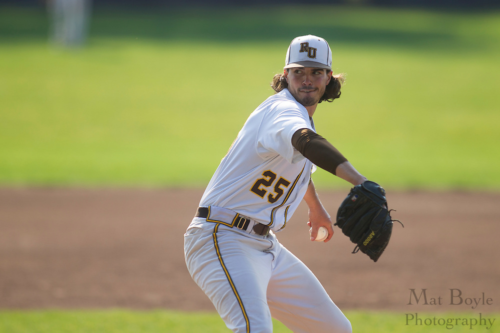 Rowan University Senior Left Handed Pitcher Curtis Arsi (25); Rowan Baseball defeats William Paterson University 7-6 in the first round of the NJAC playoffs on Tuesday May 1, 2012 in Glassboro, NJ. (photo / Mat Boyle)