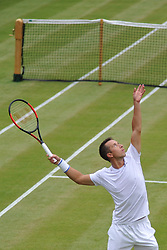 PHILIPP KOHLSCHREIBER GERMANY, The Boddles Tennis Tournament,  Stoke Park Bucks, 29th June 2017<br /> Photo:Mike Capps