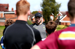 Chris Pennell of Worcester Warriors leads a coaching session as Worcester Warriors host a summer holiday rugby camp at Malvern College - Mandatory by-line: Robbie Stephenson/JMP - 16/08/2017 - RUGBY - Malvern College - Worcester, England - Worcester Warriors - Malvern Rugby Camp