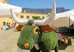 Grass sculpture during the Cape Town Flower Show held at the Castle of Good Hope between the 27th and the 30th October 2016.<br /> <br /> Photo by Ron Gaunt/ RealTime Images