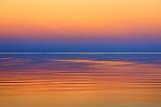 Lake Winnipeg after a sunset.<br /> Matlock<br /> Manitoba<br /> Canada