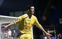 David Jones celebrates after scoring.<br />Ipswich v Preston. Picture by Barry Bland 29/08/05