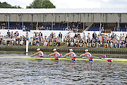 Henley, Great Britain.  The Princess Grace Challenge Cup, USA W4X. Princeton Training Center 'A' Bow  .Stesha CARLE, Megan KALMOE,  Alison COX and Natalie  DELL. Henley Royal Regatta. River Thames Henley Reach.  Royal Regatta. River Thames Henley Reach.  Friday   01/07/2011  [Mandatory Credit Peter Spurrie r/ Intersport Images] 2011 Henley Royal Regatta. HOT. Great Britain . HRR