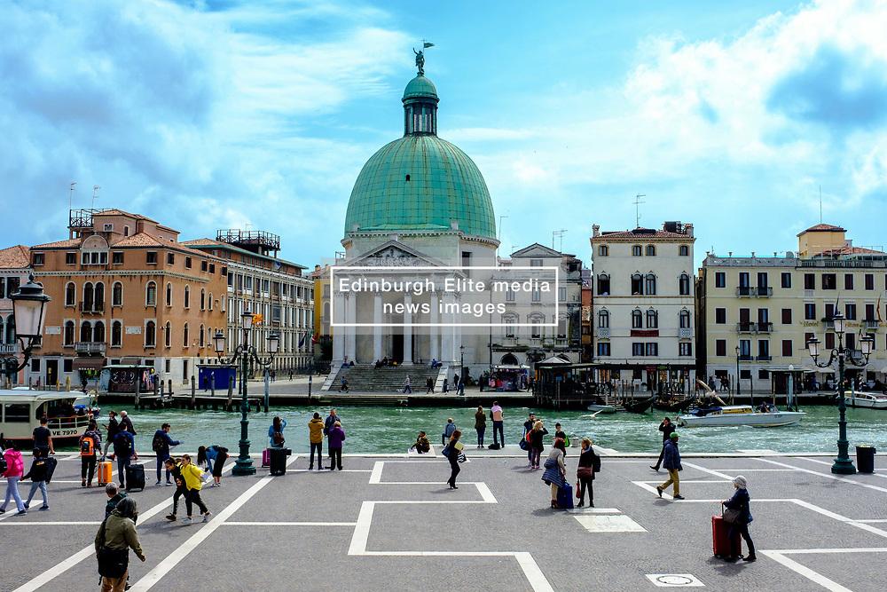 San Simeone Piccolo, Chiesa di San Simeone Piccolo by the Grand Canal, Venice, Italy<br /> <br /> (c) Andrew Wilson   Edinburgh Elite media