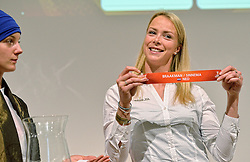 30-03-2015 NED: FIVB Drawing WCH Beach Volleyball, The Hague<br /> The Drawing of Lots for the FIVB Beach Volleyball World Championships The Netherlands 2015 will take place at the Mauritshuis art museum / Madelein Meppelink