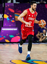 Vasilje Micic of Serbia during basketball match between National Teams of Russia and Serbia at Day 16 in Semifinal of the FIBA EuroBasket 2017 at Sinan Erdem Dome in Istanbul, Turkey on September 15, 2017. Photo by Vid Ponikvar / Sportida
