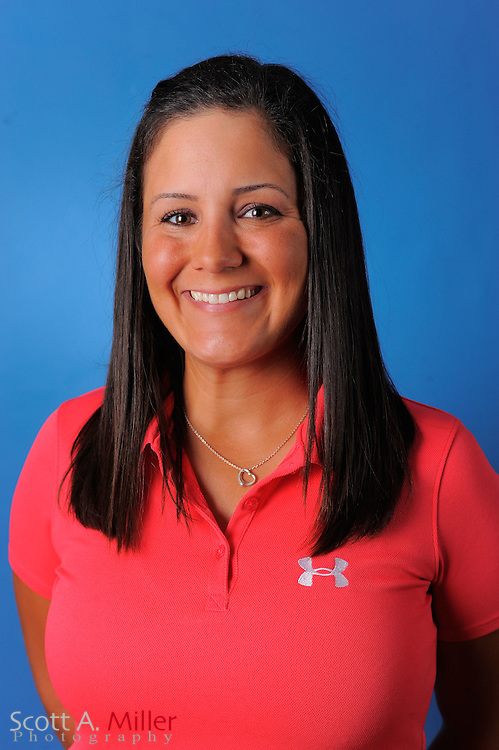 Briana Vega during a portrait session prior to the second stage of LPGA Qualifying School at the Plantation Golf and Country Club on Sept. 24, 2011 in Venice, FL...©2011 Scott A. Miller