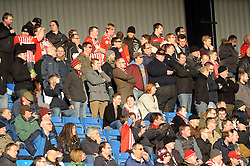 Exeter fans - Photo mandatory by-line: Neil Brookman/JMP - Mobile: 07966 386802 - 24/01/2015 - SPORT - Football - Oxford - Kassam Stadium - Oxford United v Exeter City - Sky Bet League Two