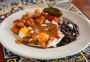 8-18-10 --- Huevos Rancheros at AllGood Cafe