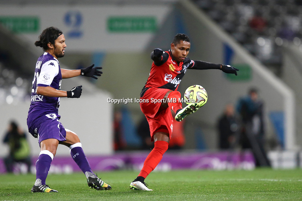 Christophe Mandanne  - 20.12.2014 - Toulouse / Guingamp - 19eme journee de Ligue 1 <br /> Photo : Manuel Blondeau / Icon Sport