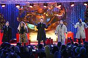 Pentatonix performs at the 2016 Rockefeller Center Christmas Tree Lighting Ceremony, Wednesday, Nov. 30, 2016, in New York. (Photo by Diane Bondareff/Invision for Tishman Speyer/AP Images)