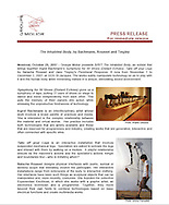 Groupe Molior Press Release, October, 2007.