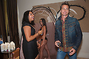 MATT EVERS, Beau Bronz  ( Tanning system ) launch, Avista Bar, Millennium Hotel, Grosvenor Sq. London. 17 August 2011.<br /> <br />  , -DO NOT ARCHIVE-© Copyright Photograph by Dafydd Jones. 248 Clapham Rd. London SW9 0PZ. Tel 0207 820 0771. www.dafjones.com.