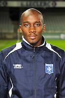 Geoffrey LEMBET - 31.10.2014 - Auxerre / Brest - 13eme journee Ligue 2<br />Photo : Jean Paul Thomas / Icon Sport