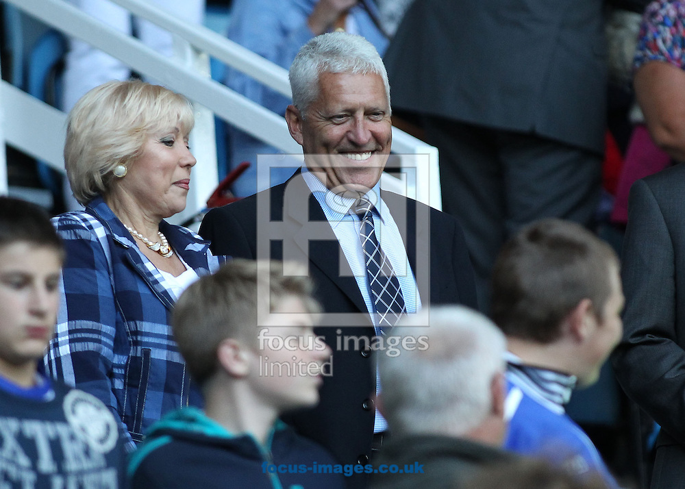 Mark Palios, the new owner of Tranmere Rovers in the stand prior to the Capital One Cup match against Nottingham Forest, at Prenton Park, Birkenhead.<br /> Picture by Michael Sedgwick/Focus Images Ltd +44 7900 363072<br /> 12/08/2014
