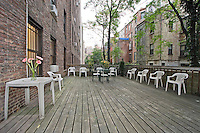 Patio at 105 West 73rd Street