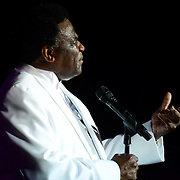 The reverend Al Green performs at The Music Hall in Portsmouth, NH in August of 2012