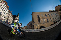 Wesley Sulzberge (AUS) of Orica-Green Edge competes during Stage 1of  cycling race 20th Tour de Slovenie 2013 - Time Trial 8,8 km in Ljubljana,  on June 12, 2013 in Slovenia. (Photo By Vid Ponikvar / Sportida)