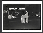 Mica Ertegun and Irith Landeau leaving the Literary Lions. New York Public Library. 42 nd. St. 9/11/89. Exhibition in a Box