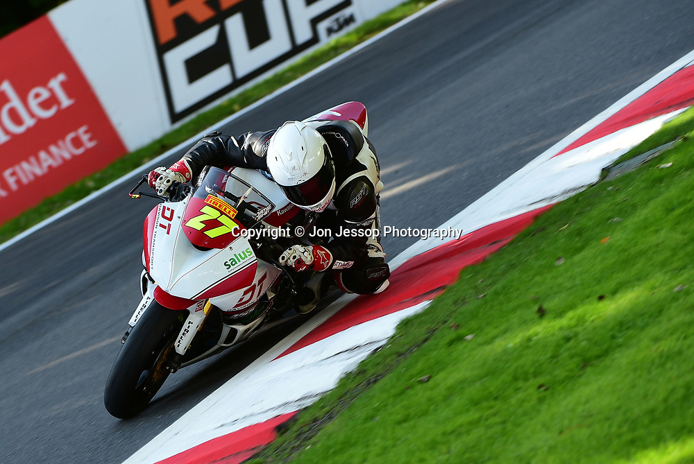 #27 Jamie Ashby Nuneaton JPA Racing/Davison Transport Kawasaki Pirelli National superstock 600 Championship