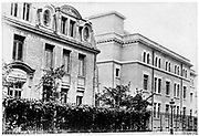 Radium Institute, Paris, where Marie CURIE (1867-1934), Polish-born French physicist, was director of research (1918-1934).