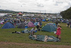 A general scene from the opening of the camp site at T in the Park 2010 on Thursday 8th July, 2010..Pic ©2010 Michael Schofield. All Rights Reserved.