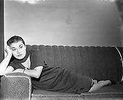 Italian Opera Star, Graziella Sciutti, at Wexford.31/10/1957