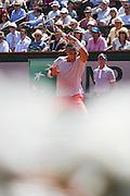 Paris, France. Roland Garros. June 7th 2013.<br /> Spanish player Rafael NADAL against Novak DJOKOVIC