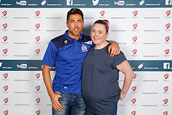 Gavin Henson of Bristol Rugby poses during the Player Sponsors' Dinner in the Heineken Lounge at Ashton Gate - Mandatory byline: Rogan Thomson/JMP - 08/02/2016 - RUGBY UNION - Ashton Gate Stadium - Bristol, England - Bristol Rugby Player Sponsors' Dinner.