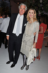 ALLEGRA HICKS and ROBERTO MOTTOLA d'AMATO at a dinner hosted by Cartier following the following the opening of the Chelsea Flower Show 2012 held at Battersea Power Station, London on 21st May 2012.
