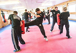 The first week of the KMG UK Instructors course at the KSDA Martial Arts Studio, Dunfermline..©Michael Schofield.