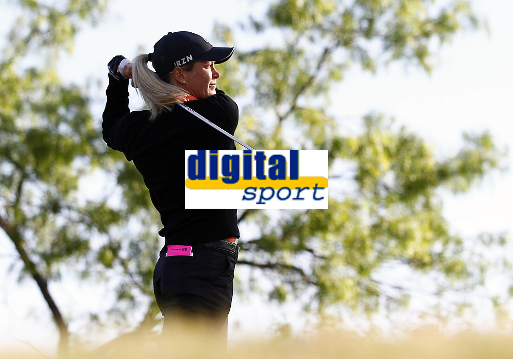 02 May 2014 Suzann Pettersen drives ON Hole 1 during The Second Round of The North Texas LPGA Golf women Shootout played AT Las Colinas Country Club in Irving TX Golf May 02 LPGA Golf women North Texas LPGA Golf women Shootout Second Round <br />