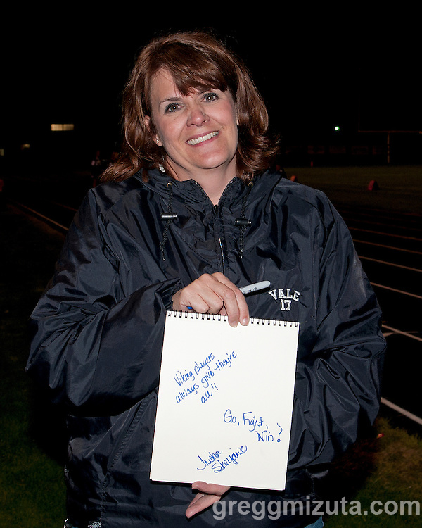 Viking players always give their all!! Go, fight, win!  - Trisha Skerjanec 09/16/11