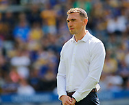 Kevin Sinfield (Director of Rugby) for Leeds Rhinos during the Betfred Super 8s Qualifiers match at Emerald Headingley Stadium, Leeds<br /> Picture by Stephen Gaunt/Focus Images Ltd +447904 833202<br /> 11/08/2018
